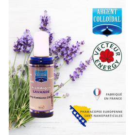 Parfum d'ambiance à l'argent colloïdal dosé à 200ppm en 100 ml - Lavande