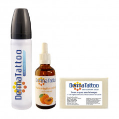 Pack DermaTattoo 8.2 Peaux Normales + Huile + Savon
