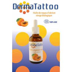 Huile de Noyau d'Abricot DermaTattoo 50 ml