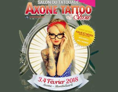 Convention Axone Tattoo de Montbéliard les 3 et 4 février 2018