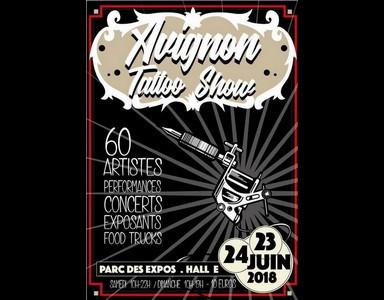 Nouveau : la Convention de tatouage Avignon Tattoo show les 23 et 24 juin 2018