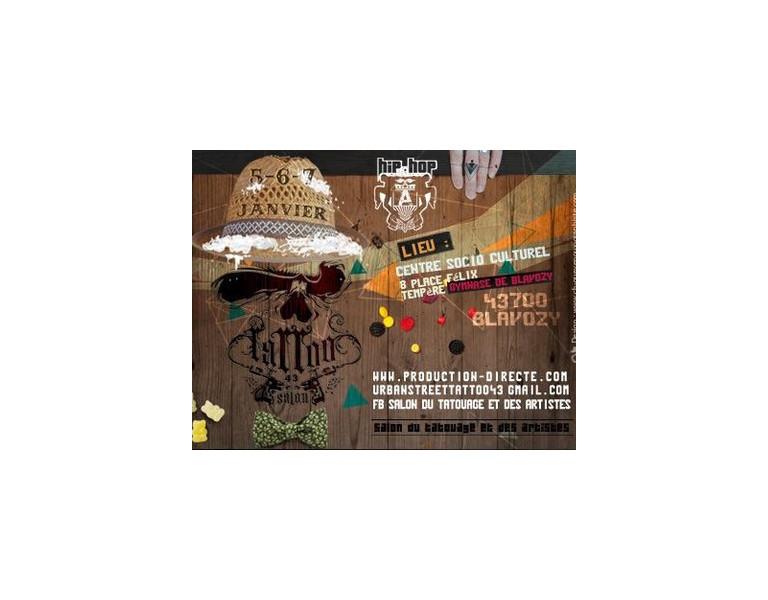 Salon du tatouage et des artistes Tattoo 43 du 5 au 7 janvier 2018 à Blavozy