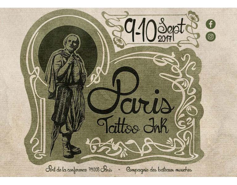 PARIS TATTOO INK Le tatouage en péniche en 2017