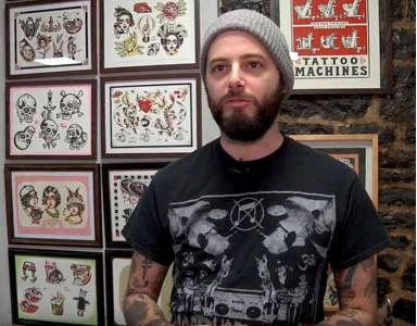 Génial : des tatouages qui «bougent» par Philippe Bergeron