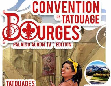 Convention de tatouage de Bourges les 23 et 24 juin 2018 au Palais des Congrès