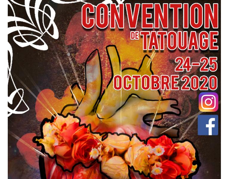 Convention de tatouage de Bourges 23 et 24 octobre 2020